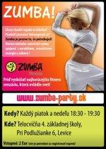 Zumba party, Levice