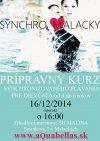 Synchronizované plávanie - prípravný kurz na nábor do tímu SYNCHRO MALACKY